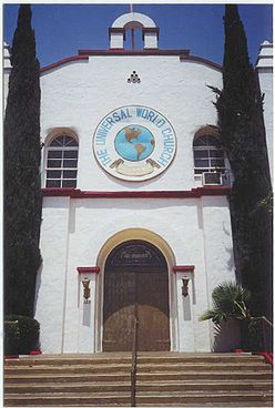 The Front Entrance of the Church